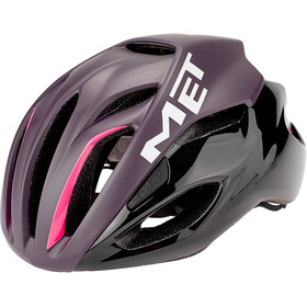 MET Rivale Cykelhjelm, deep purple black